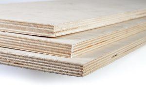 imagem de compensados de madeira